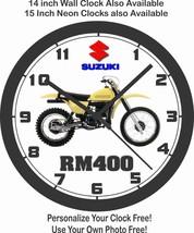 1978 SUZUKI RM400 MOTOCROSS WALL CLOCK - $25.73