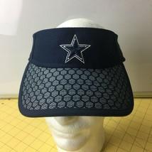 New Era NFL Dallas Cowboys Blue Visor Cap Hat Caps Hats Snapbacks - $19.55