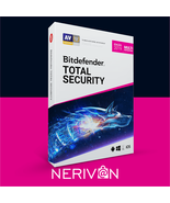 Bitdefender Total Security | 5 Devices | 1 year | Genuine Product Key - $39.89