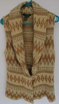 RALPH LAUREN Womens Med Sweater / Vest Lambs Wook Silk Linen ANGORIA  EU... - $47.93