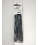 """NY-TY NYLON CLAMP CABLE TIES PC15-120-S25-L0 - 50pc - 14.9"""" inches Black... - $12.86"""