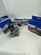 Lot of 14 OEM Epson DURABrite Ultra 220 Ink Cartridges Black/Cyan/Magent... - $72.92