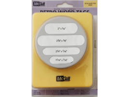 McGill Word Tags 3 Inch Punch #66600