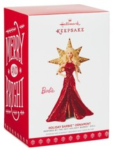 Hallmark: Holiday Barbie - Series 3rd - 2017 Keepsake Ornament - $24.74