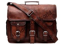 Men Bag Casual Business Leather Men Messenger Bag Vintage Men's Cross-bo... - $113.21 CAD