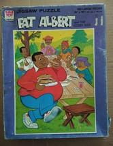 Vtg 1975 Whitman Fat Albert Cosby Kids 100 Pc Jigsaw Puzzle Complete Purple Box - $14.99