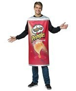Pringles Can Potato Chips Adult Men Women Costume Food Halloween Unique ... - $63.99