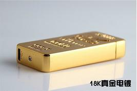Gold Lion Creative Windproof USB Charging Pulse Arc Lighter - One Lighter w/box image 10