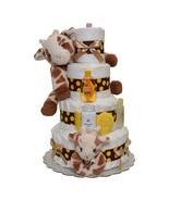 Giraffe Diaper Cake 4 Tiers - $147.00
