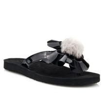 UGG Poppy Flip Flop Women | Black 1090489 W/ BLK - $29.99