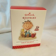 "HALLMARK  ""Fun at the Beach"" #1 Happiness in Peanuts all year long series - $6.68"