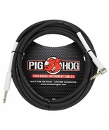 """Pig Hog - PH10R - 1/4"""" - 1/4"""" Right Angle 8mm Instrument Cable -10 ft.- ... - $19.75"""