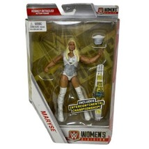 WWE Wrestling Elite Collection Women's Division Maryse Exclusive Action ... - $36.38