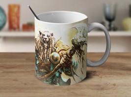 Ajani Magic the Gathering Coffee Mug Color Changing Mug Cup Gamer Gifts Gadget - $12.20+