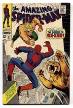 AMAZING SPIDER-MAN #57-comic book MARVEL SILVER AGE FN - $88.27