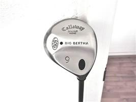 Callaway Big Bertha S2H2 Divine Nine Rh 9 Wood Ladies Flex Graphite W/HEAD Cover - $49.45