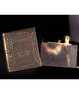 Vintage hidden compartment book lighter locket - novelty mens lighter gi... - $95.00