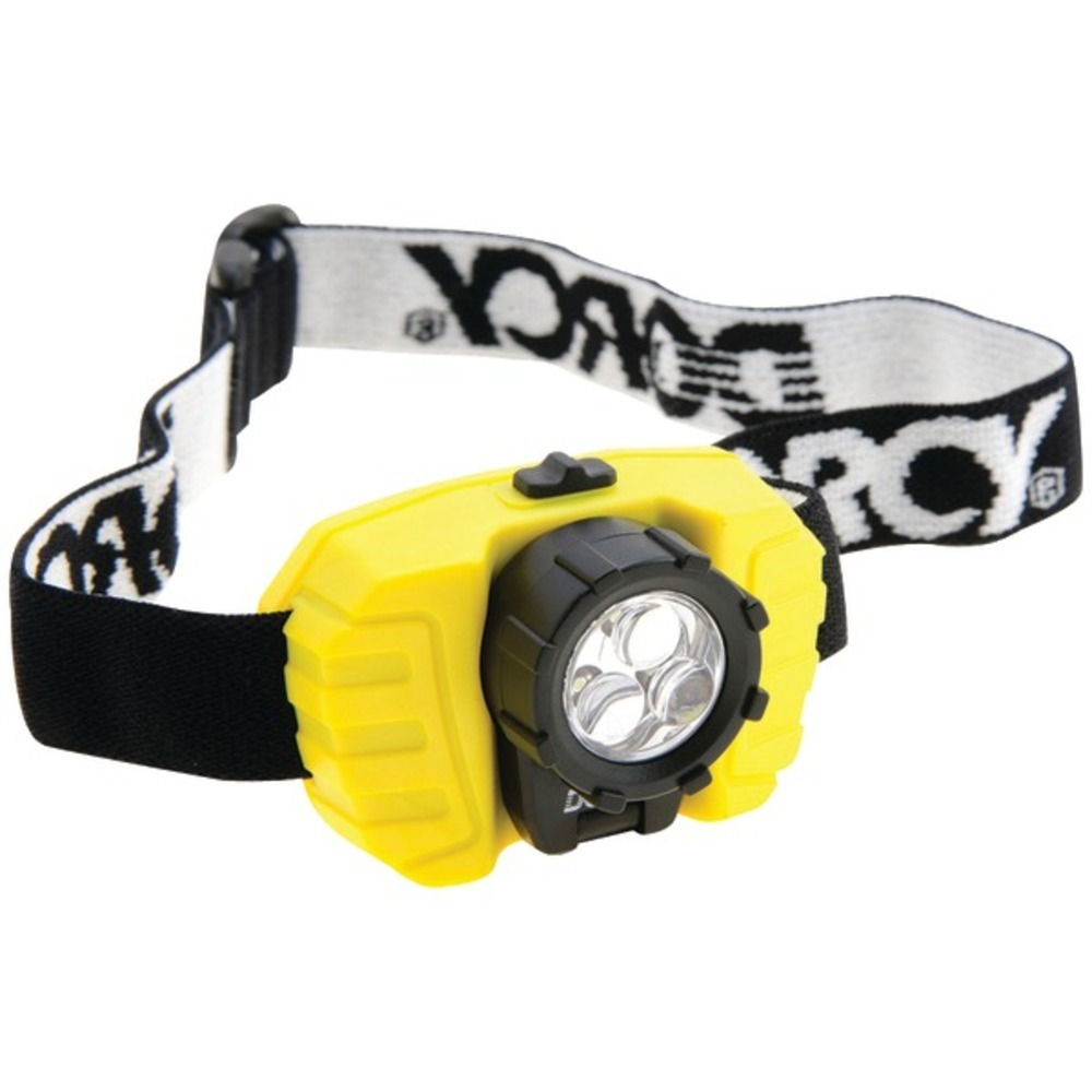 Dorcy 41-2099 28-Lumen 3-LED Headlamp