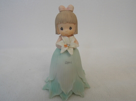 2000 Precious Moments Flower Girl of the Month April Figurine Bell  - $25.00