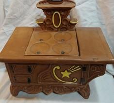 rare twin winton vtg oven stove cookie jar ceramic - $68.20