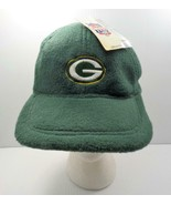 NFL Game Day Green Bay Packers Hat Baseball Cap Fleece Like OSFA Polyester - $29.99