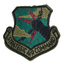 "Vintage U.S. Air Force Strategic Air Command (SAC) Cloth Patch 3"" - $5.77"