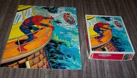 Vintage Whitman 1983 Marvel The Amazing SPIDER-MAN Puzzle 100 Pieces With Box - $19.80