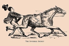 The Invisible Jockey by American Puzzle Co. - Art Print - $19.99+