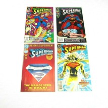 Lot 4 Vintage Superman Man of Steel Comic Books 1992-1993 Issues 15, 16,... - $19.99