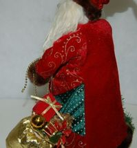 Sterling 382528 Traditional 16 Inch Santa With Staff And Gift Bag image 4