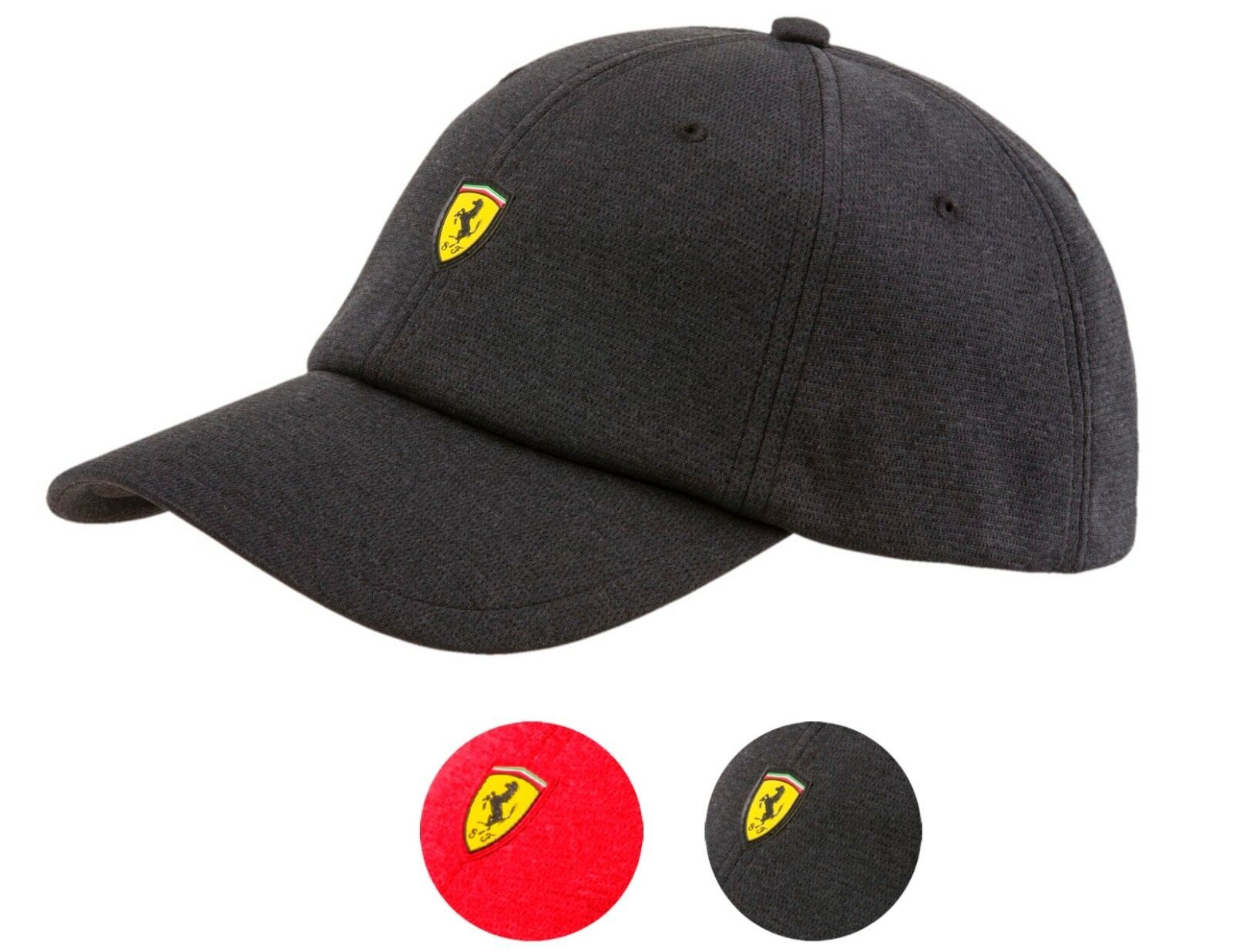 Puma Ferrari Men's Adjustable Fanwear Baseball Sport Hat Cap Strapback 021516