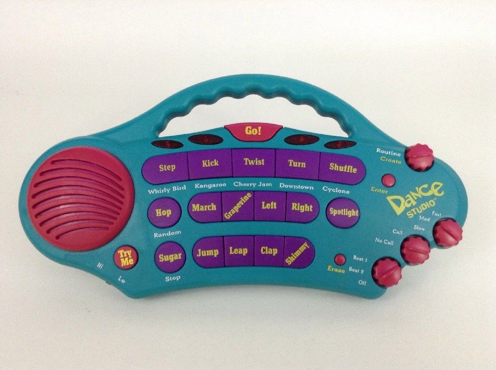 90s Toy Music Electronic Musical Dance Studio Toy w Batteries Vintage 1997 YES!