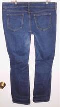 OLD NAVY Diva Dark Wash Boot Cut Stretch Denim Jeans Sz 16 Reg Women's - $19.79