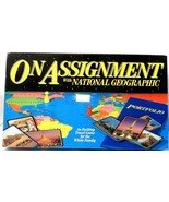 On Assignment with National Geographic Geography Travel Board Game see c... - $0.99