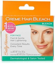 Sally Hansen Creme Hair Bleach For Face 6 Pack