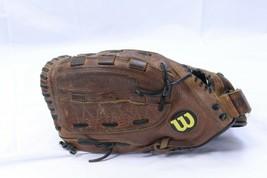 "Wilson A9662 FP4 LHT Leather Baseball Glove 12 1/2"" Custom Fit Monsta Web  - $88.19"