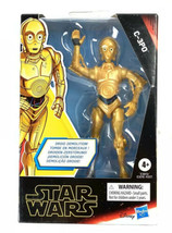 "Star Wars Galaxy of Adventure C-3P0 Droid Demolition Hasbro 4.5"" Figure - $14.75"