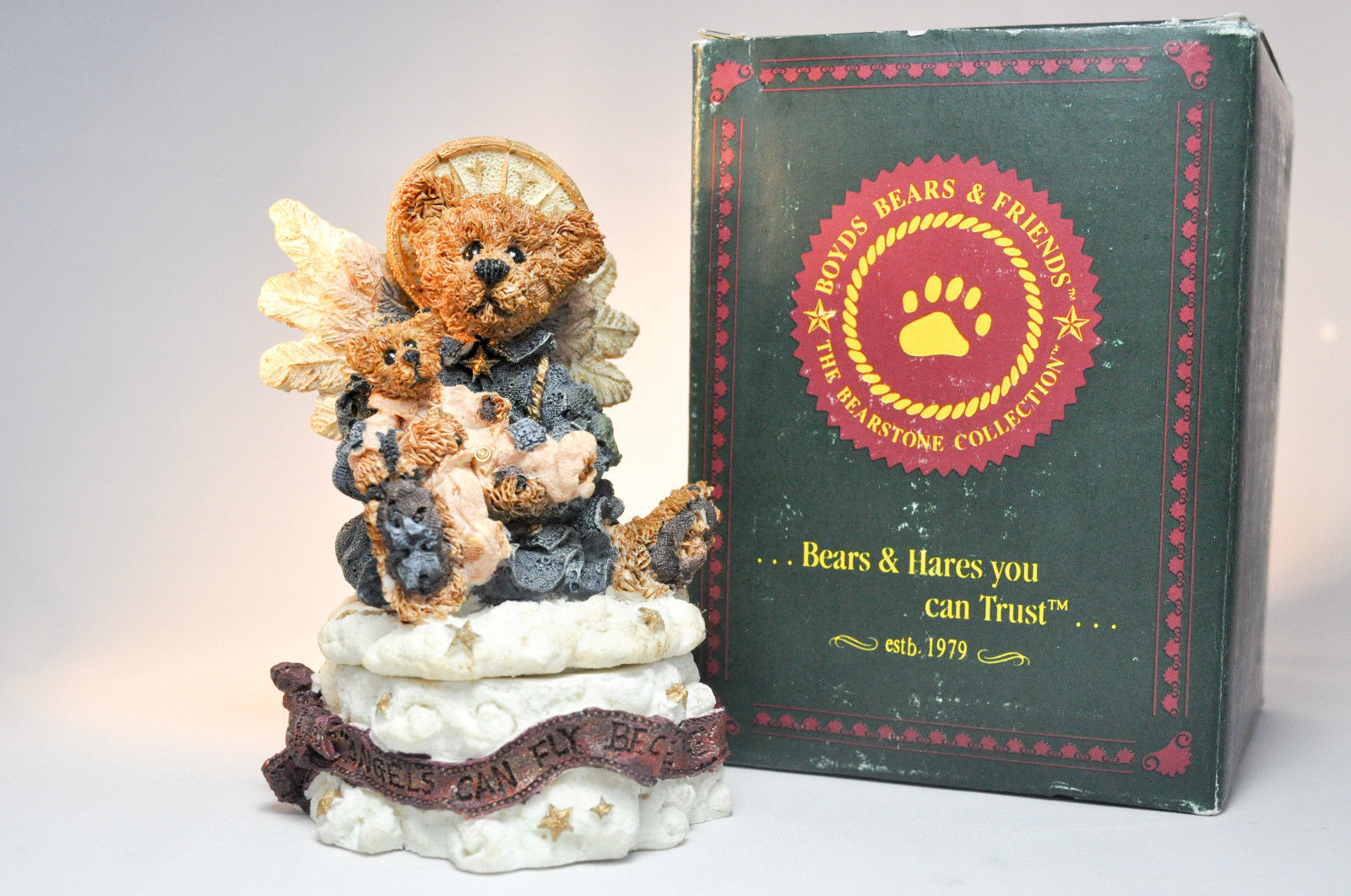 Boyds Bears: Angelica The Guardian - Style 2266 - First Edition 1E/230 - Trinket image 11
