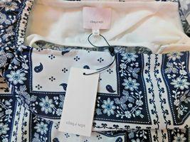 Cinq à Sept - Minella Off-The-Shoulder Scarf-Print Dress - Size 2 NWT image 6