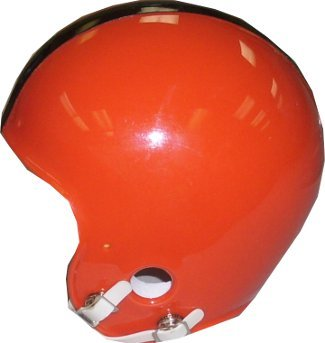 Princeton Tigers Throwback Mini Helmet unsigned no mask
