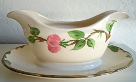 Franciscan Desert Rose Gravy Boat and Attatched Underplate England Backs... - $24.92