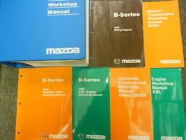 1999 Mazda B-Series Truck Service Repair Shop Workshop Manual Set W EWD + LOTS - $296.99