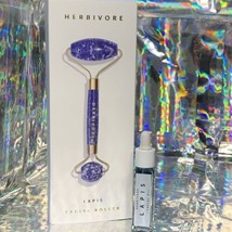 NEW IN BOX Herbivore Lapis Depuffing Facial Roller W 8mL Lapis Oil GORGEOUS
