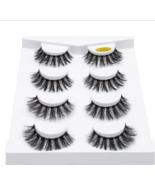 SEXYSHEEP 2/4 pairs natural false eyelashes fake lashes long makeup 3d m... - $2.65
