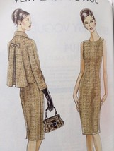 Vogue Sewing Pattern 8146 Ladies Misses Dress Jacket Size 14-20 New - $19.01