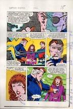 1980's Zeck Captain America 282 page 15 Marvel color guide art: Nick Fur... - $39.59