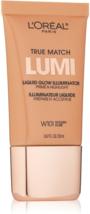 L'oreal True Match LUMI Liquid Glow Illuminator Prime & Highlight W101 G... - $11.95