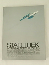 Vintage Star Trek Intergalactic Crossword And Other Puzzles Softcover Bo... - $20.00