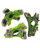 Reptile Habitat Décor Turtle Cavern Resin Moss for Hermit Crabs Leopard ... - $65.99