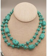 Premier Design Turquoise 2 Strand Necklace - $4.90